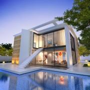 Modern house Bauhaus
